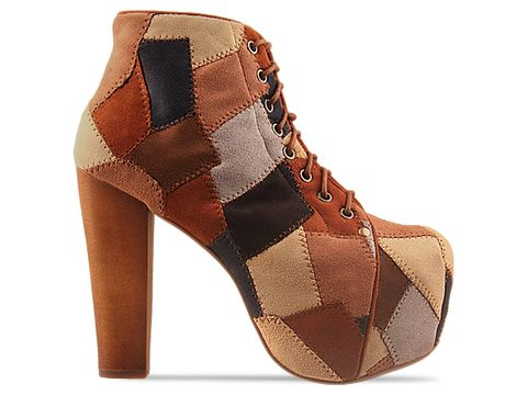 Jeffrey Campbell In Brown Multi Lita Patch