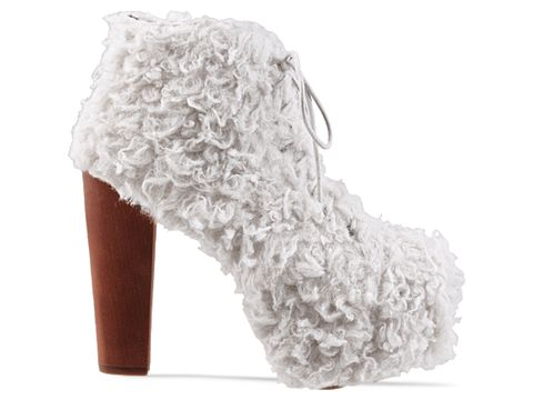 Jeffrey Campbell In White Lita Shag