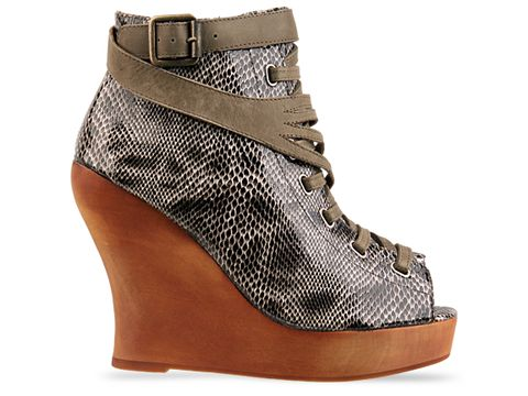 Jeffrey Campbell In Khaki Python Lots