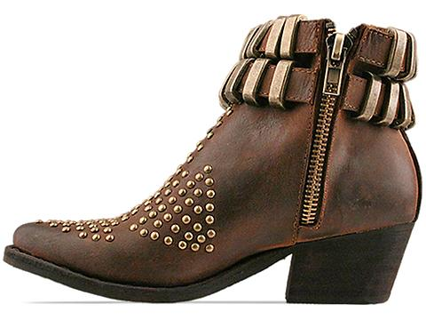 Jeffrey Campbell In Brown Distressed Lovich