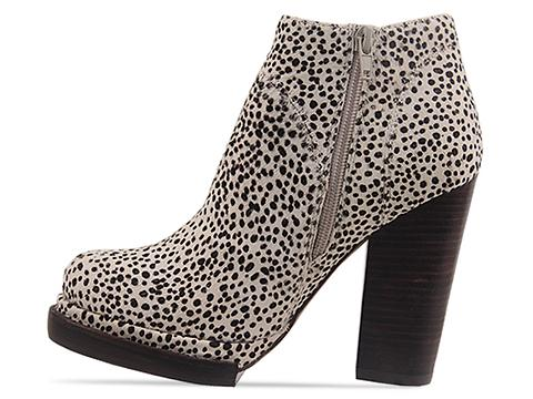 Jeffrey Campbell In Black Taupe Pony Loza Fur