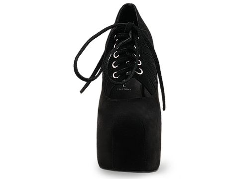 Jeffrey Campbell In Black Suede Lydia