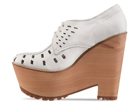 Jeffrey Campbell In White Leather Lykke