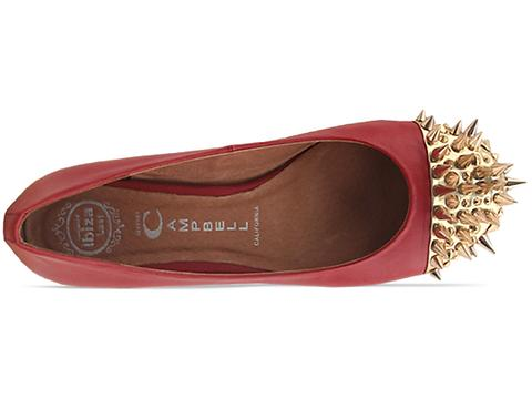 Jeffrey Campbell In Red Gold Margo