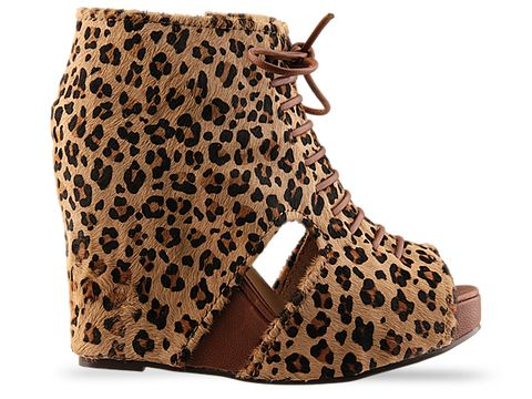 Jeffrey Campbell In Cheetah Mary Fur
