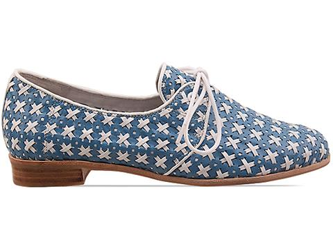 Jeffrey Campbell In Blue White Mikhail