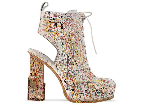 Jeffrey Campbell In White Mildred Paint
