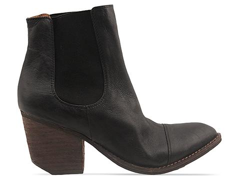 Jeffrey Campbell In Black Distressed Montana