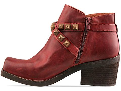 Jeffrey Campbell In Wine Distressed Morrison