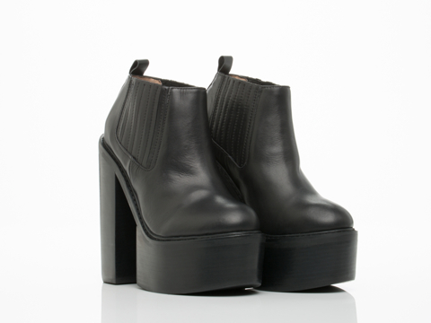 Jeffrey Campbell In Black Black Moshe