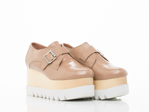 Jeffrey Campbell In Nude Box White Munk