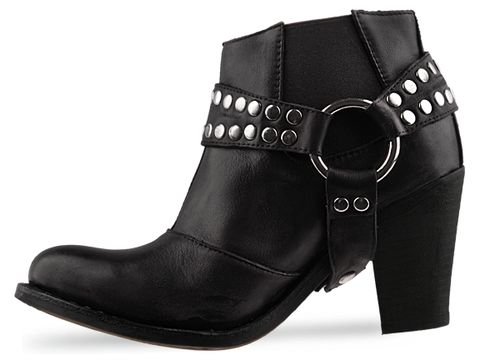 Jeffrey Campbell In Black Distressed Nation H