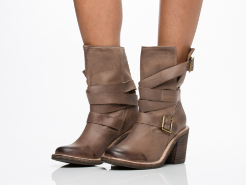 Jeffrey Campbell In Khaki Distressed New France