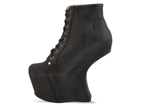 Jeffrey Campbell In Black Distressed Night Lita