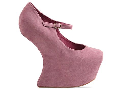 Jeffrey Campbell In Lavender Suede Night Walk