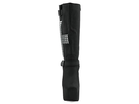 Jeffrey Campbell In Black Washed Silver Nightcross