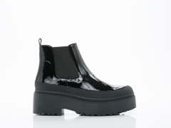 Jeffrey Campbell In Black Patent Combo Nucleus