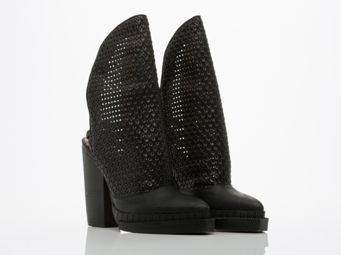 Jeffrey Campbell In Black Oleg Woven