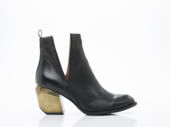 Jeffrey Campbell In Black Bronze Orwell 2M