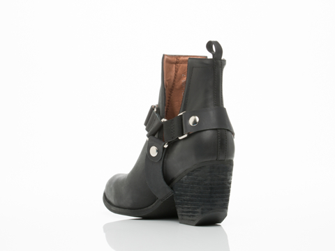 Jeffrey Campbell In Black Distressed Orwell Harness