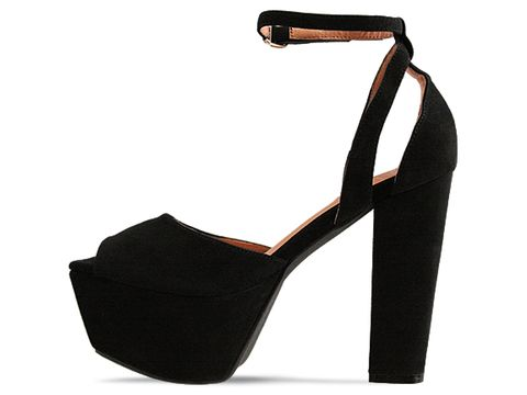 Jeffrey Campbell In Black Suede Perfect 2