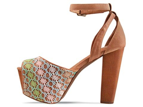 Jeffrey Campbell In Pastel Tan Perfect WD