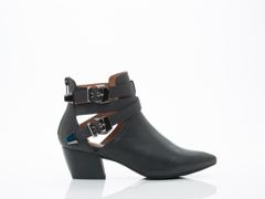 Jeffrey Campbell In Black Silver Phillips