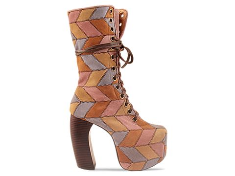 Jeffrey Campbell In Suede Multi Pickford