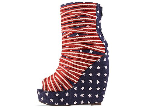 Jeffrey Campbell In Stars And Stripes Pingpong