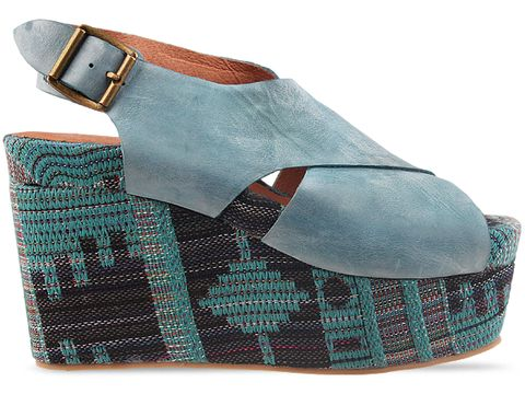 Jeffrey Campbell In Blue Combo Pisa Fab