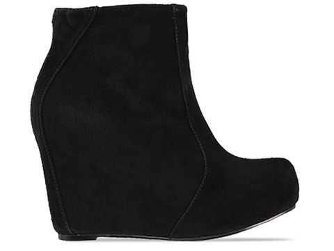 Jeffrey Campbell In Black Suede Pixie