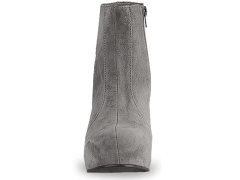 Jeffrey Campbell In Grey Suede Pixie