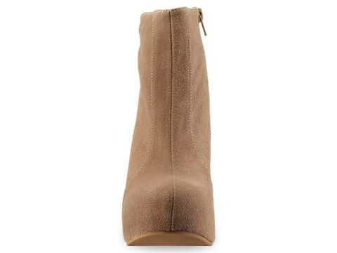 Jeffrey Campbell In Tan Suede Pixie