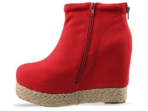 Jeffrey Campbell In Red Pixie Fab
