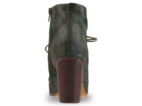 Jeffrey Campbell In Green Suede Pony Up