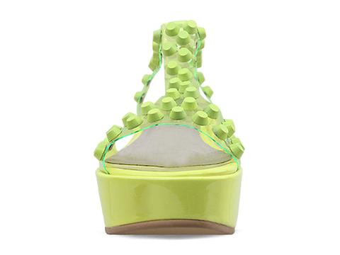 Jeffrey Campbell In Green Neon Puff SS-DP