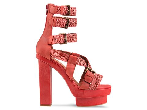 Jeffrey Campbell In Red Combo Ramona