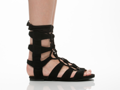 Jeffrey Campbell In Black Suede Redondo
