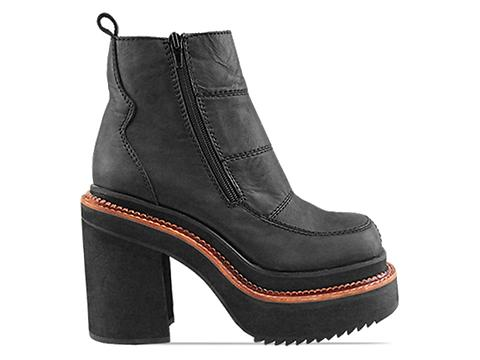 Jeffrey Campbell In Black Washed Regional