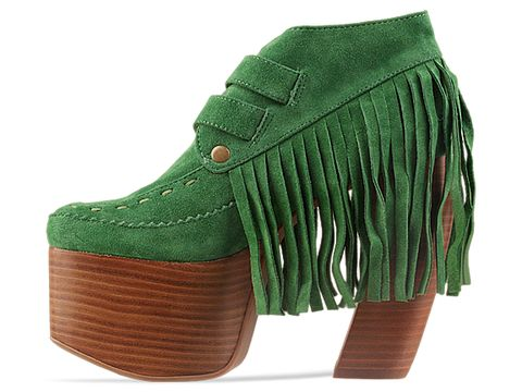 Jeffrey Campbell In Green Represent