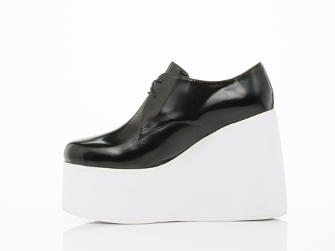 Jeffrey Campbell In Black Box White Romano