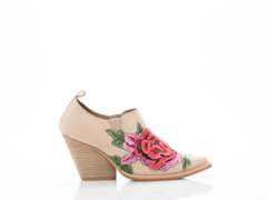 Jeffrey Campbell In Natural Red Combo Roseola