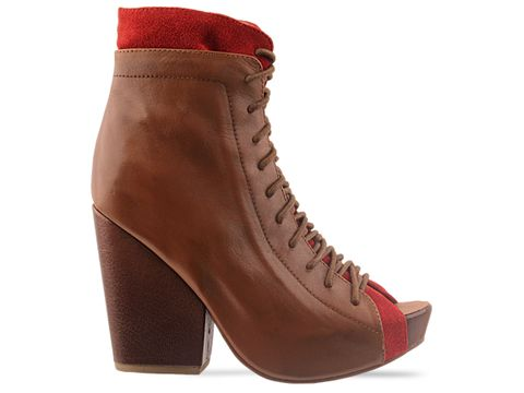 Jeffrey Campbell In Tan Red Rowley