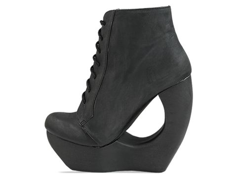 Jeffrey Campbell In Black Distressed Roxie
