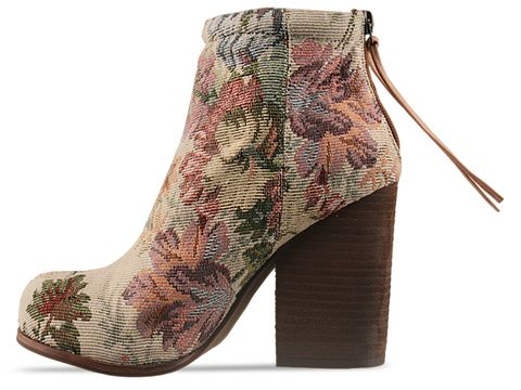 Jeffrey Campbell In Natural Floral Rumble Fab