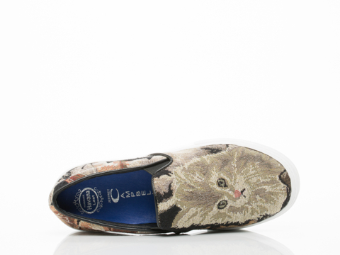 Jeffrey Campbell In Cat Tapestry Sarlo