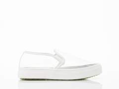 Jeffrey Campbell In Clear White Patent Sarlo