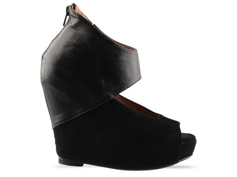 Jeffrey Campbell In Black Saturn
