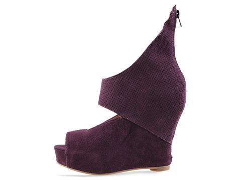 Jeffrey Campbell In Purple Suede Saturn 2