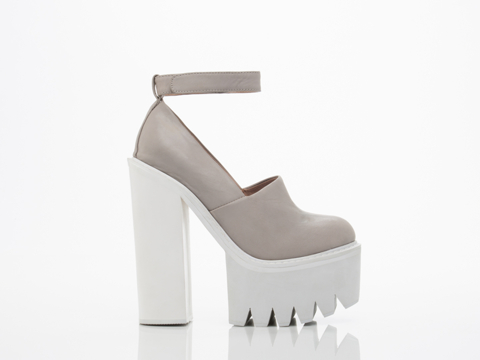 Jeffrey Campbell In Grey White Scully